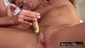 screaming bed tied lesbian to Sissy only big cock