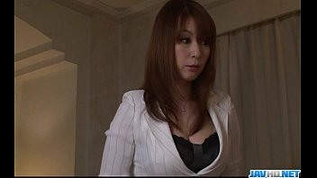 green dress busty in mom Japanese mom cheats behind father