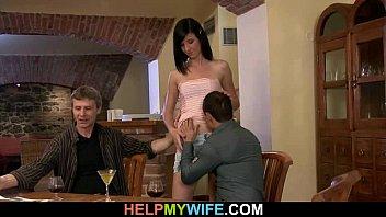 invite public wife stranger Massage with aphrodisiac cream
