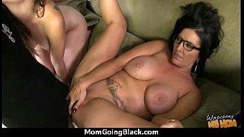 mom interracial porn big 17 milf cock want black horny Barbie addison jacks off her mans pole