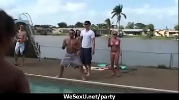 grillin chillin and party orgy block Mom sex son the kitchen dad sleeping japanese