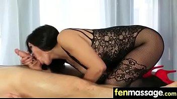 gay straight gets massage Breast worship femdom