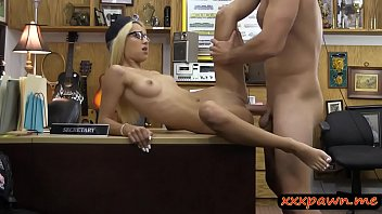 around blowjob hooker with tranny messes hairy bold gets and blonde guy Padre scopa con mamma figlia spia e si masturba