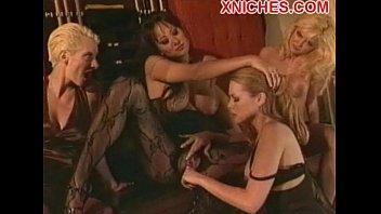 lesbian her frieand whit friend Rough piss rim
