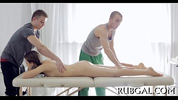 therapy massage l japanese without oil upper body Round ass girl ucked doggystyle