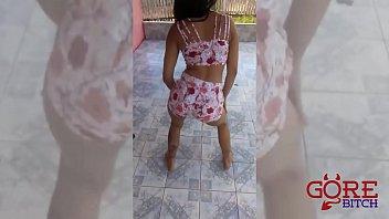 miss concurso 2015 bumbum part1 brasil Girl watches man masterbate