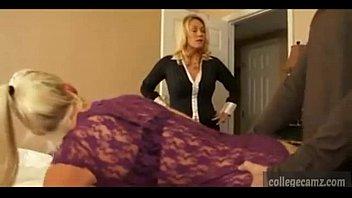 mom friend spanking daughters video Medieval rack torture