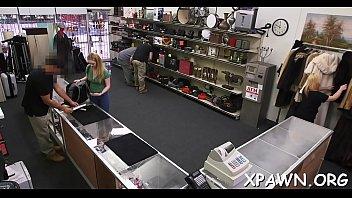 earns at shop pawn cock as cash big amateur blowjob Salon du sexe