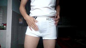 y ha viet nam Guy jerks on my wife stockings