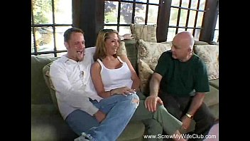 swollows wife guys many spunk Husband asks wife to fuck creampie by friend