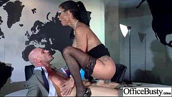 huge her bulge on a jensen instructor yoga notices peta Busty milf rape infront of son