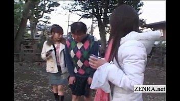subtitled wife japanese shy Amber lynn bach bra