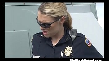 bbc cop vs female blonde Its gonna hurt interracial gay porn fucking clip02