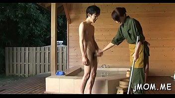 threesome lesbians mature japanese Mom son blowjob big cock incest fantasy
