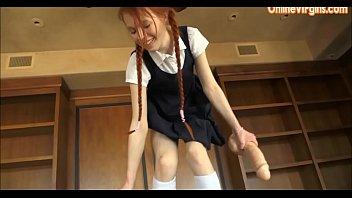 hot vergen school yung girls Cum dripping from her holes
