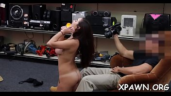 shopping in thong Alexis grace secret agent footjob