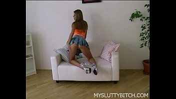 her katarina with big horny dildo plays German girl gets checkup