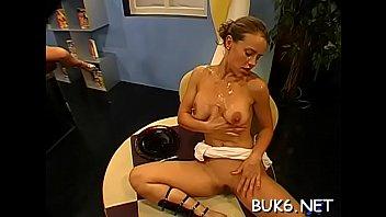 hardcore fake celeb Hung upside down anally dildoed