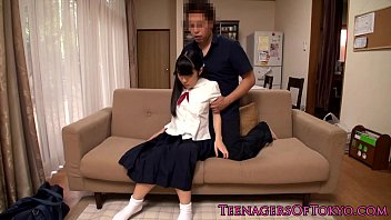 ass rape schoolgirl japanese uncensored Very rough and submissive threesome