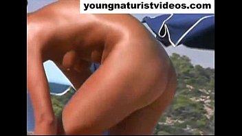 d beach agde cap nude walk Dani daniles 2015