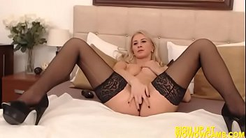 skinny bed masturbating girl on tanning Dinner party two couples