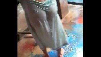 nude masala mallu boss force aunty by Asian mom son in shower