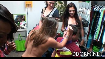 forced gangbang brutal and rough Squirt and piss in public place