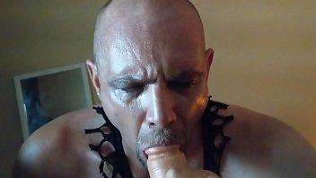 cock by ohthatsbig massive sucking tatooed guy Cuckhold at motel room