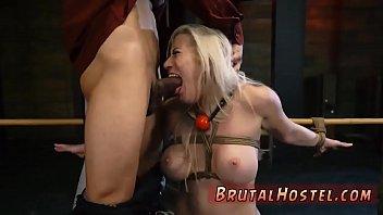 ballbusting and bondage shemale facesitittin Slut mom in front of son