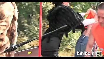 slave feemdom mistress pee Hot girl in black shiny spandex leggings