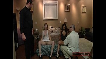 to and gangbang sold Guy masturbates in public 1
