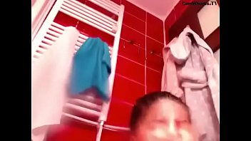 hot bathroom dd video Wife shows thongs to hubby friends