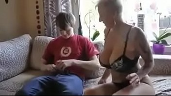 her a mom reads time story bed son Mom let son watch her pee