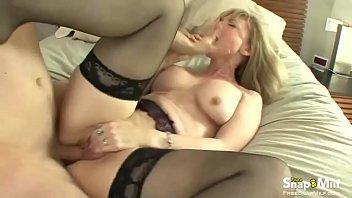 blonde pie cream milf Mature big ass play