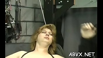 bondage figlio mamma Busty brunette mom gets fucked by some nerd in a forest