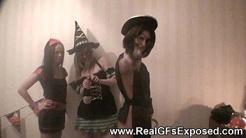 lesbian cosplay halloween Shrunken women video porn